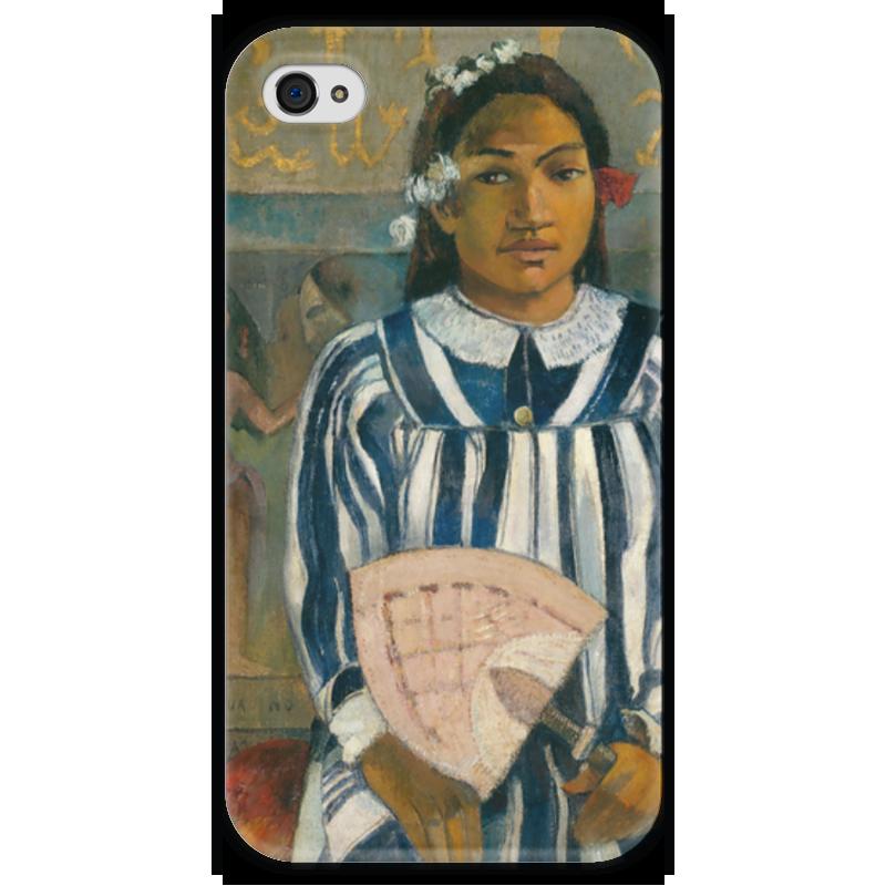 Чехол для iPhone 4 глянцевый, с полной запечаткой Printio Tehamana has many parents