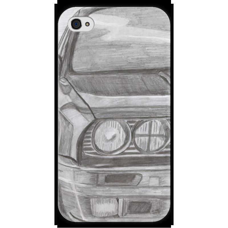 Чехол для iPhone 4 глянцевый, с полной запечаткой Printio Bmw e30 чехол для iphone 4 глянцевый с полной запечаткой printio эфиопка