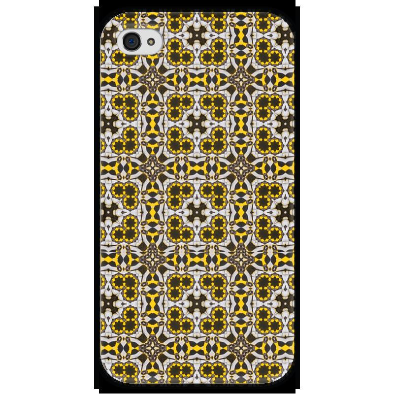 Чехол для iPhone 4 глянцевый, с полной запечаткой Printio Oolop7600 чехол для iphone 4 глянцевый с полной запечаткой printio эфиопка