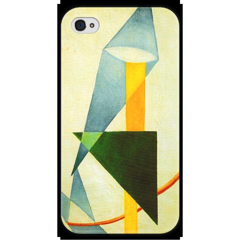 Чехол для iPhone 4 глянцевый, с полной запечаткой Printio Беспредметная композиция чехол для iphone 4 глянцевый с полной запечаткой printio эфиопка