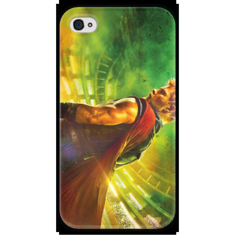 Чехол для iPhone 4 глянцевый, с полной запечаткой Printio Тор рагнарёк кастрюля эм 4 0л тор бант 1238578