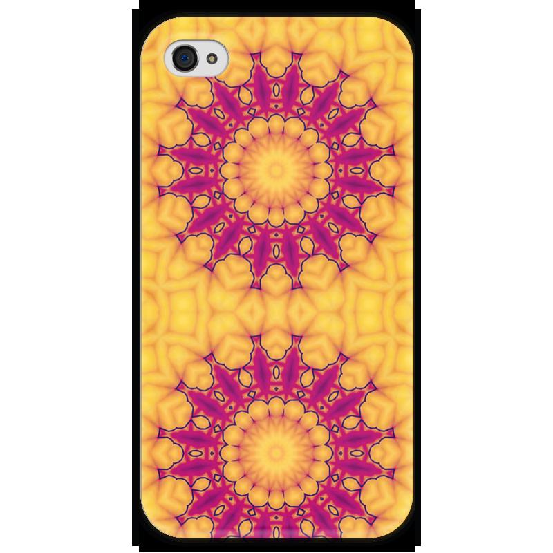 Чехол для iPhone 4 глянцевый, с полной запечаткой Printio Helicologie чехол для iphone 4 глянцевый с полной запечаткой printio фруктовый сад в цвету