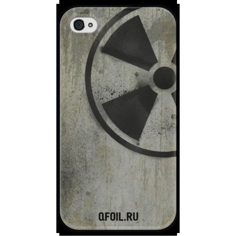Чехол для iPhone 4 глянцевый, с полной запечаткой Printio Логотип-трафарет чехол для iphone 4 глянцевый с полной запечаткой printio эфиопка