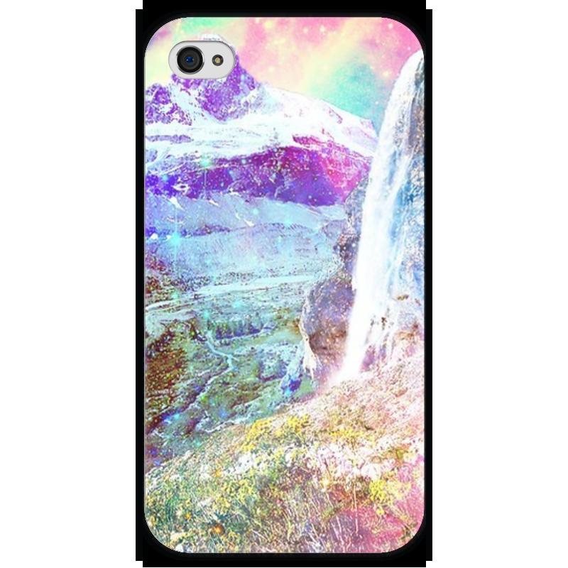 Чехол для iPhone 4 глянцевый, с полной запечаткой Printio Сказочный мир чехол для iphone 4 глянцевый с полной запечаткой printio эфиопка