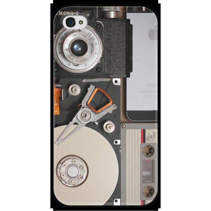 Чехол для iPhone 4 глянцевый, с полной запечаткой Printio Next ii чехол для iphone 4 глянцевый с полной запечаткой printio эфиопка