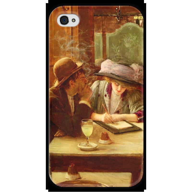 Чехол для iPhone 4 глянцевый, с полной запечаткой Printio Письмо (жан беро) салонный фильтр мазда демио dy3w