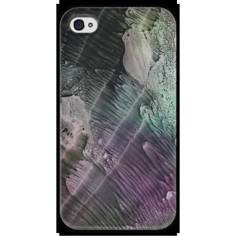 Чехол для iPhone 4 глянцевый, с полной запечаткой Printio Акварелька чехол для iphone 4 глянцевый с полной запечаткой printio пиво