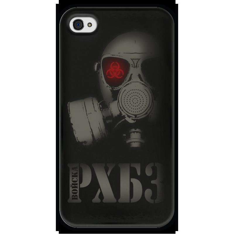 Чехол для iPhone 4 глянцевый, с полной запечаткой Printio Войска рхбз чехол для iphone 4 глянцевый с полной запечаткой printio эфиопка