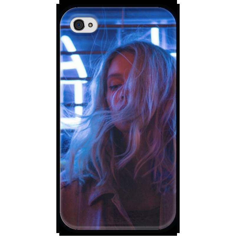Чехол для iPhone 4 глянцевый, с полной запечаткой Printio 死んパンク隊 к.л чехол для iphone 4 глянцевый с полной запечаткой printio эфиопка