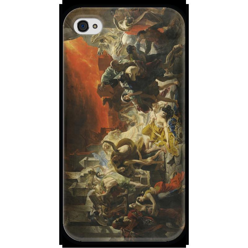 Чехол для iPhone 4 глянцевый, с полной запечаткой Printio Последний день помпеи (картина брюллова) последний подарок