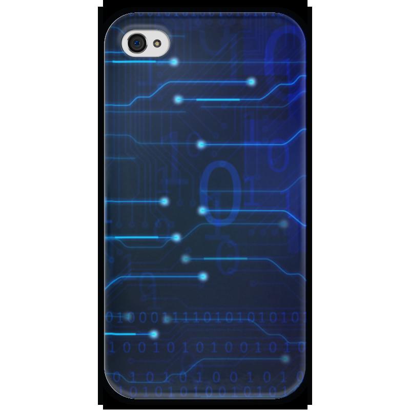 Чехол для iPhone 4 глянцевый, с полной запечаткой Printio Матрица чехол для iphone 4 глянцевый с полной запечаткой printio эфиопка