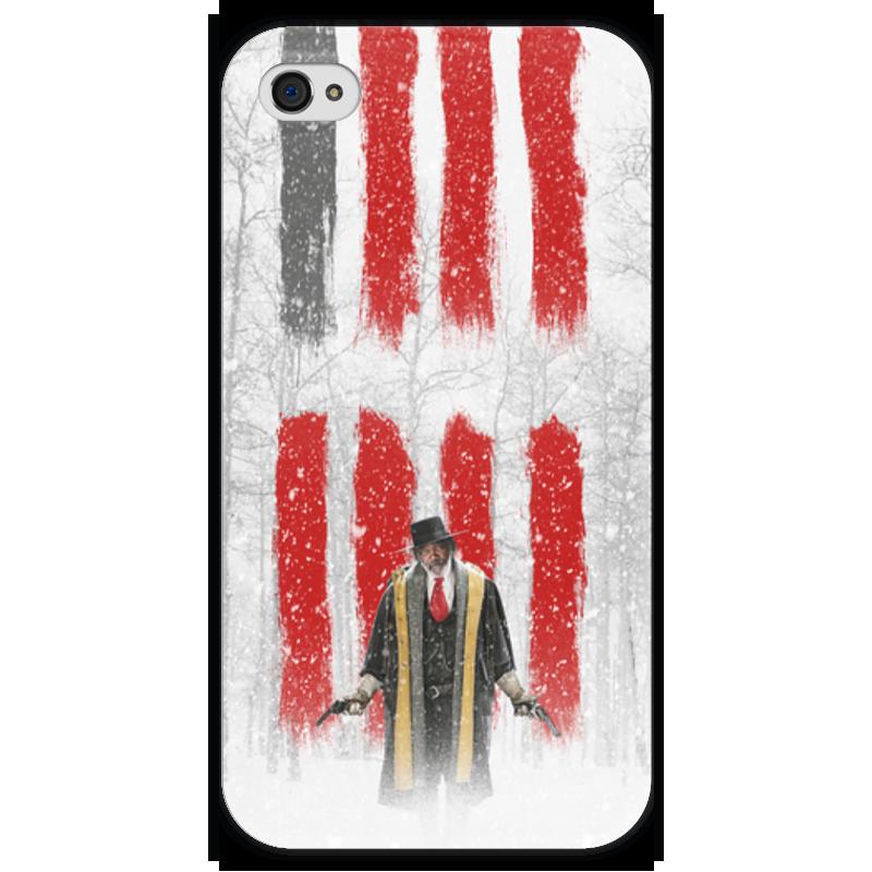 Чехол для iPhone 4 глянцевый, с полной запечаткой Printio Восьмерка - охотник за головами чехол для iphone 4 глянцевый с полной запечаткой printio эфиопка