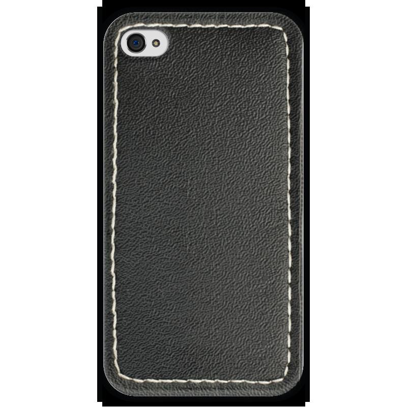 Чехол для iPhone 4 глянцевый, с полной запечаткой Printio Кожа с прошивкой чехол для iphone 4 глянцевый с полной запечаткой printio эфиопка