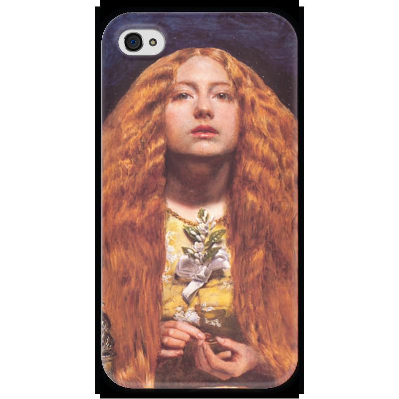 Чехол для iPhone 4 глянцевый, с полной запечаткой Printio Подружка невесты стефания лукас джон эверетт милле
