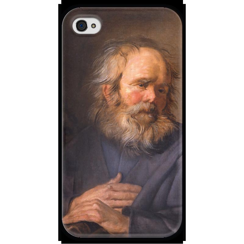 Чехол для iPhone 4 глянцевый, с полной запечаткой Printio Святой марк (картина хальса) марк кропивницкий по ревизии водевиль