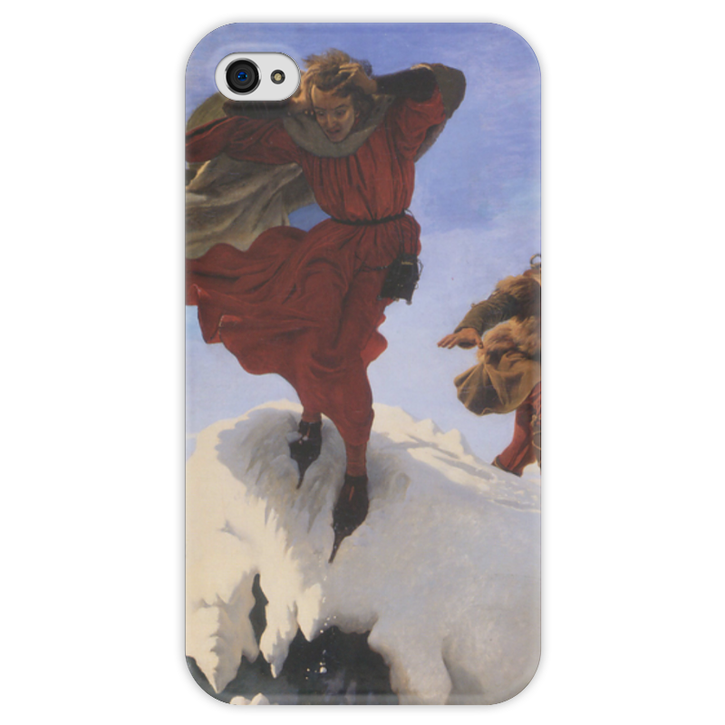 Чехол для iPhone 4 глянцевый, с полной запечаткой Printio Манфред (форд браун) чехол для iphone 5 глянцевый с полной запечаткой printio манфред форд браун