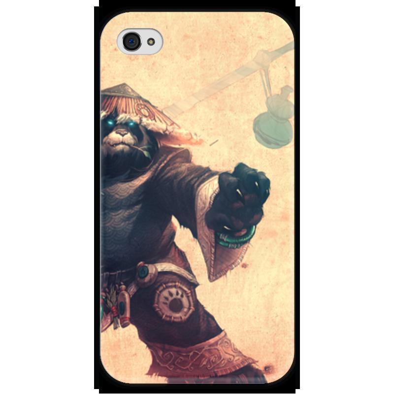 Чехол для iPhone 4 глянцевый, с полной запечаткой Printio Warcraft collection: panda чехол для iphone 4 глянцевый с полной запечаткой printio эфиопка