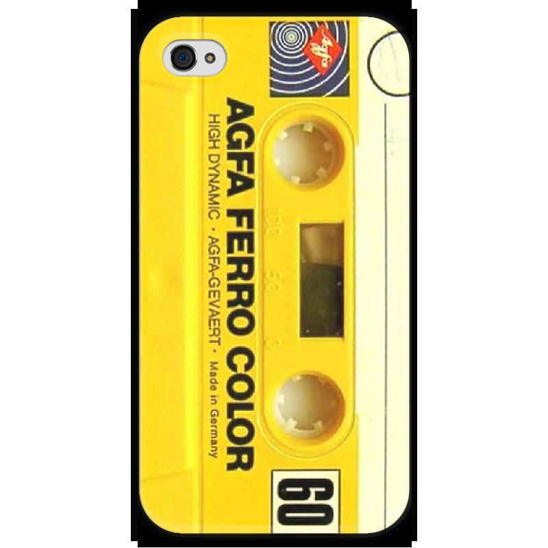 Чехол для iPhone 4 глянцевый, с полной запечаткой Printio Аудио кассета чехол для iphone 4 глянцевый с полной запечаткой printio эфиопка