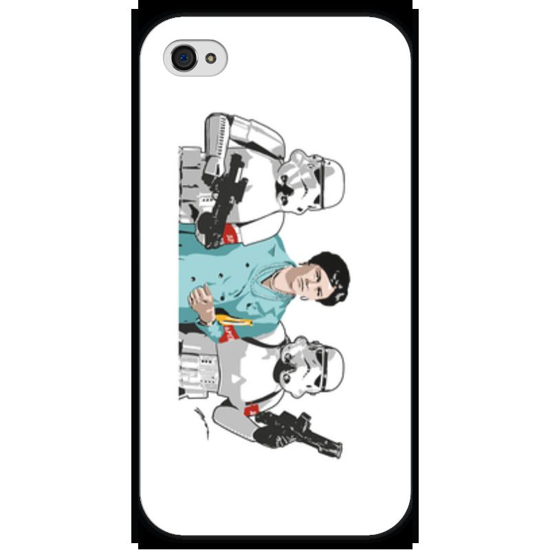 Чехол для iPhone 4 глянцевый, с полной запечаткой Printio Нонна чехол для iphone 4 глянцевый с полной запечаткой printio суарес