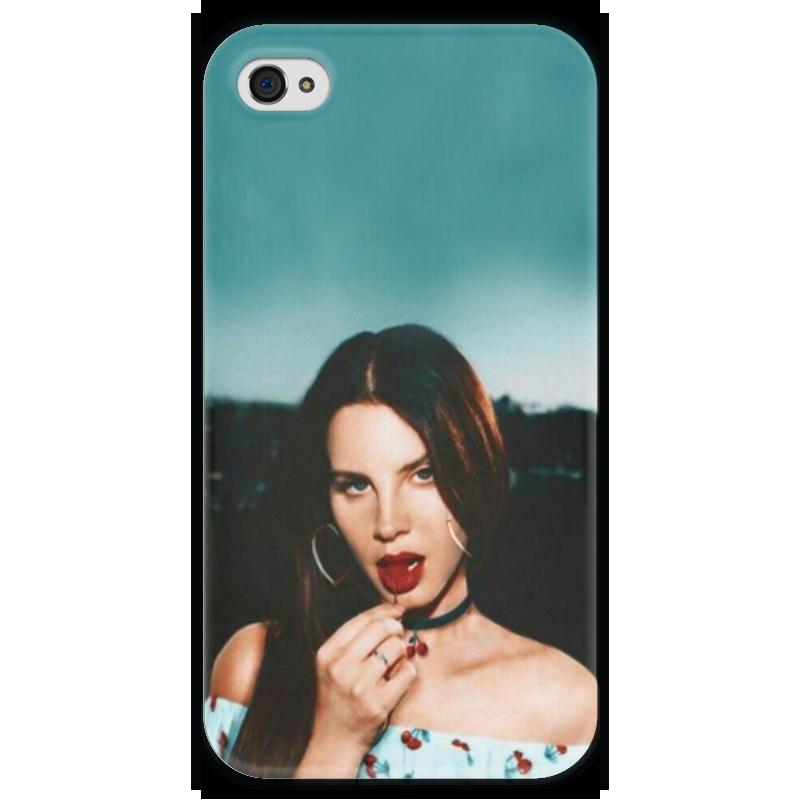 Чехол для iPhone 4 глянцевый, с полной запечаткой Printio Lana del rey чехол для iphone 4 глянцевый с полной запечаткой printio эфиопка