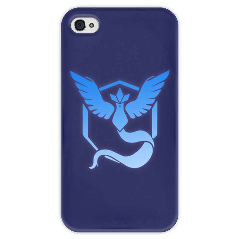 Чехол для iPhone 4 глянцевый, с полной запечаткой Printio Pokemon go: mystic team блокнот printio pokemon go