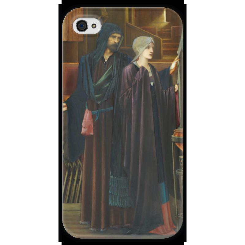 Чехол для iPhone 4 глянцевый, с полной запечаткой Printio Маг (the wizard) the wizard