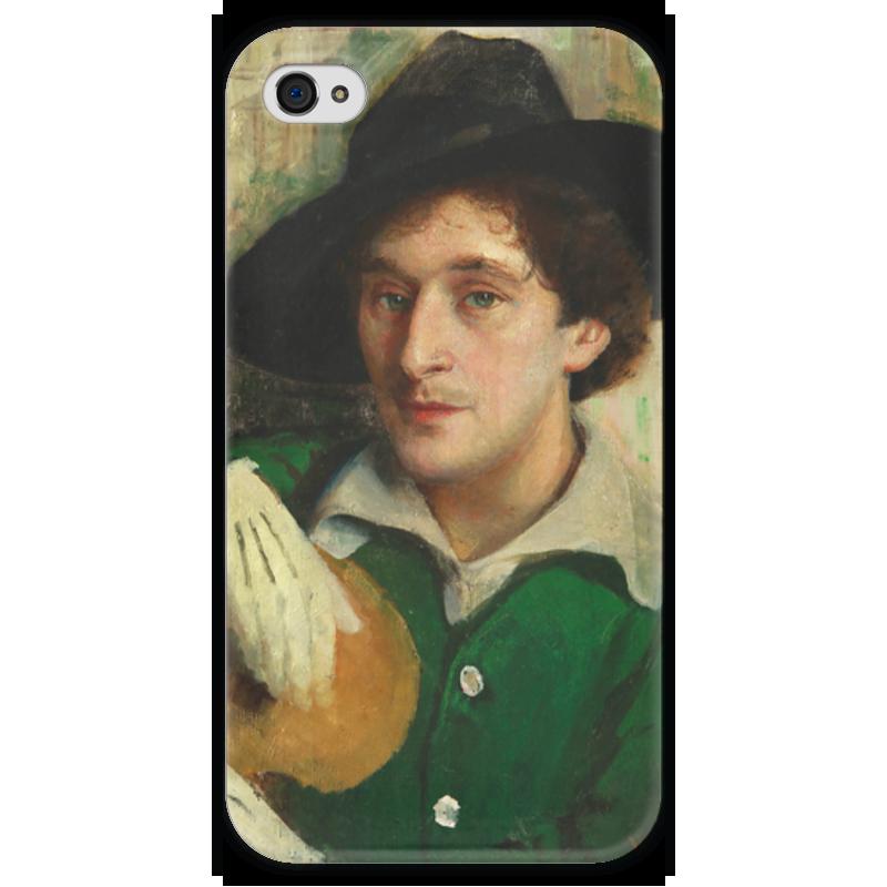 Чехол для iPhone 4 глянцевый, с полной запечаткой Printio Портрет марка шагала (юдель пэн) чехол для iphone 4 глянцевый с полной запечаткой printio портрет лоренцо медичи