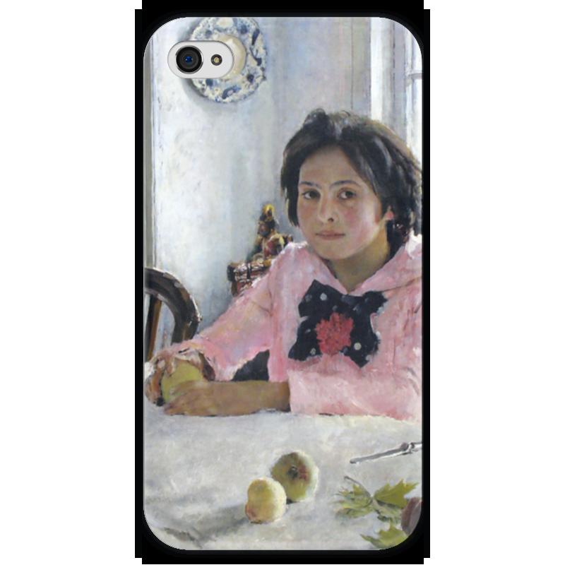 Чехол для iPhone 4 глянцевый, с полной запечаткой Printio Девочка с персиками (валентин серов) постников валентин юрьевич карандаш и самоделкин