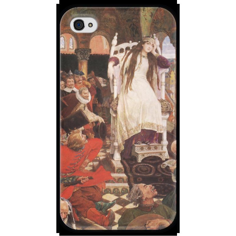 Чехол для iPhone 4 глянцевый, с полной запечаткой Printio Царевна-несмеяна виктор васнецов минувших дней печаль и радость набор репродукций