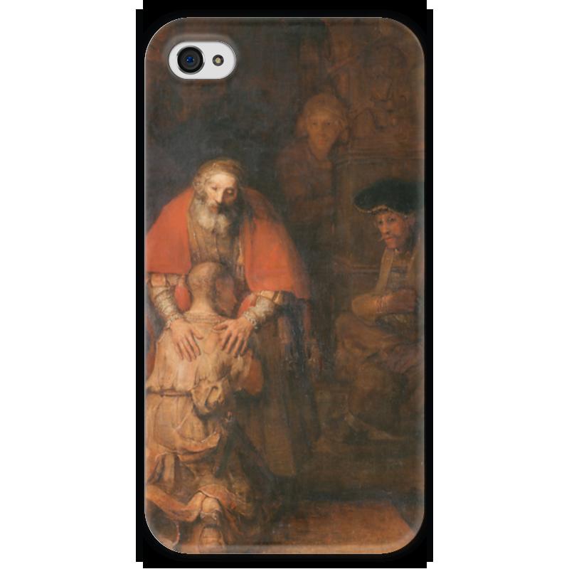 Чехол для iPhone 4 глянцевый, с полной запечаткой Printio Возвращение блудного сына (картина рембрандта) янг сьюзен программа возвращение