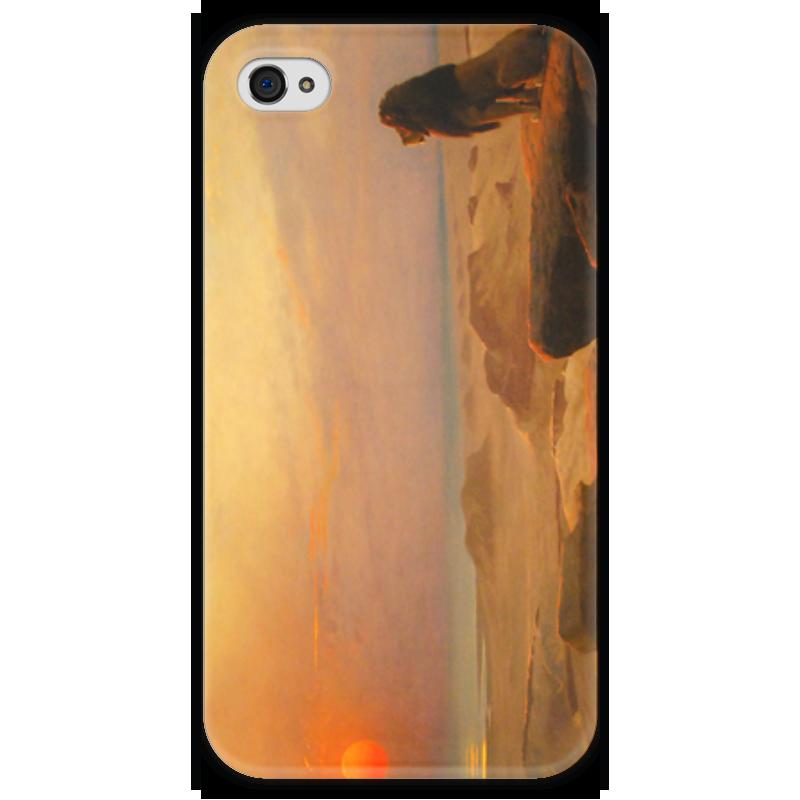 Чехол для iPhone 4 глянцевый, с полной запечаткой Printio Два величества (жан-леон жером) чехол для iphone 5 глянцевый с полной запечаткой printio последняя молитва христианских мучеников жером
