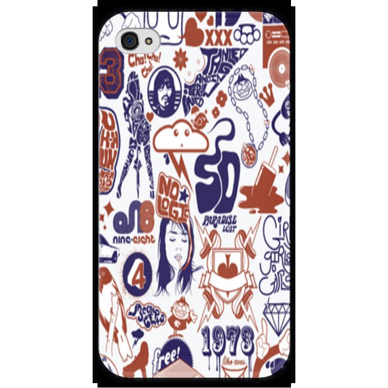 Чехол для iPhone 4 глянцевый, с полной запечаткой Printio Артик чехол для iphone 4 глянцевый с полной запечаткой printio эфиопка
