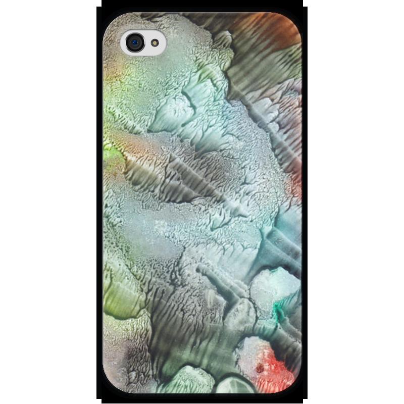 Чехол для iPhone 4 глянцевый, с полной запечаткой Printio Акварелька чехол для iphone 4 глянцевый с полной запечаткой printio leica m8