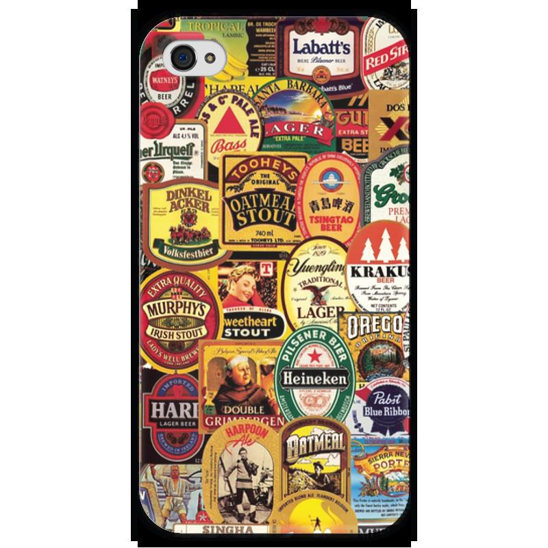 Чехол для iPhone 4 глянцевый, с полной запечаткой Printio Пиво чехол для iphone 4 глянцевый с полной запечаткой printio пиво