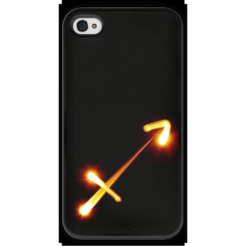 Чехол для iPhone 4 глянцевый, с полной запечаткой Printio Стрельцу (22.11-21.12) чехол для iphone 4 глянцевый с полной запечаткой printio эфиопка