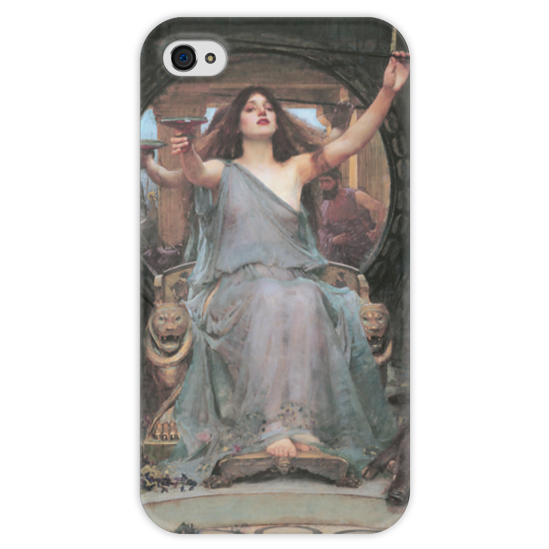 Чехол для iPhone 4 глянцевый, с полной запечаткой Printio Цирцея предлагает чашу улиссу (джон уотерхаус) чехол для iphone 6 глянцевый printio цирцея предлагает чашу улиссу джон уотерхаус
