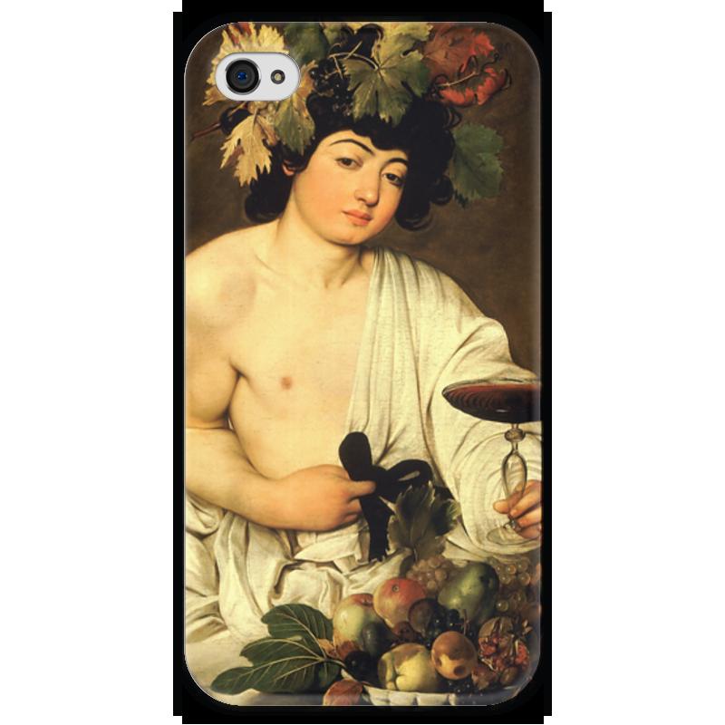 Чехол для iPhone 4 глянцевый, с полной запечаткой Printio Вакх (караваджо) караваджо