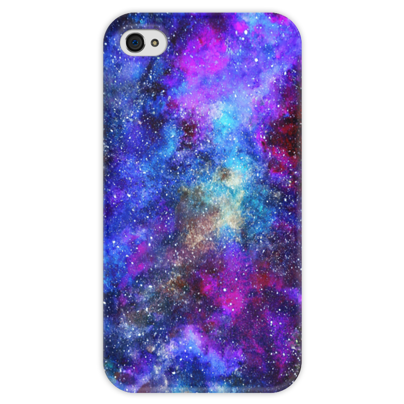 Чехол для iPhone 4 глянцевый, с полной запечаткой Printio Вселенная чехол для iphone 4 глянцевый с полной запечаткой printio эфиопка
