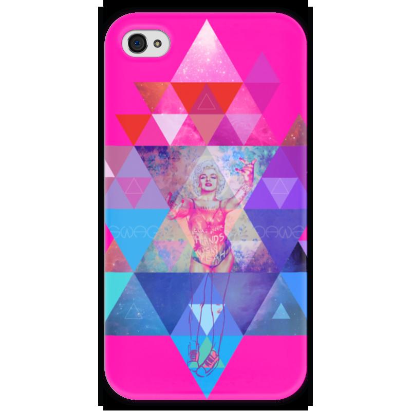Чехол для iPhone 4 глянцевый, с полной запечаткой Printio hipsta swag collection: marilyn monroe чехол для iphone 5 глянцевый с полной запечаткой printio мэрилин монро