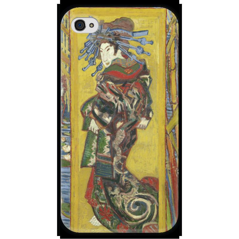 Чехол для iPhone 4 глянцевый, с полной запечаткой Printio Куртизанка (courtesan (after eisen)) лэндон д скандальная куртизанка