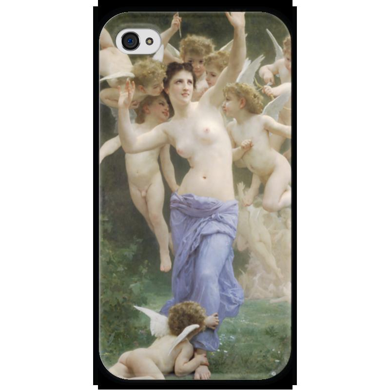 Чехол для iPhone 4 глянцевый, с полной запечаткой Printio Вторжение в королевство амуров (вильям бугро) николай боевкин вторжение