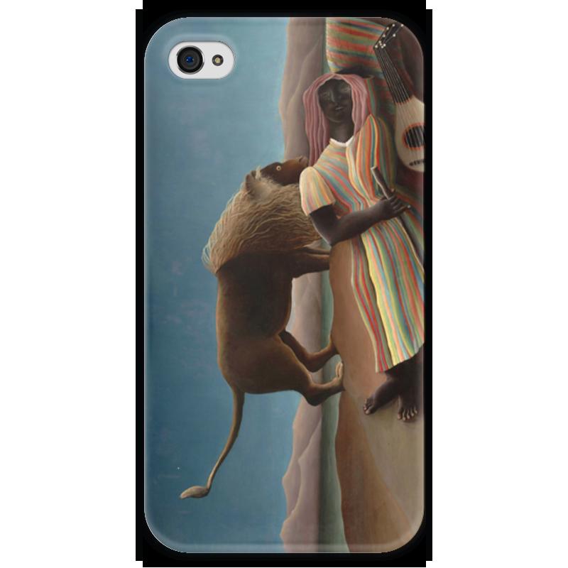 Чехол для iPhone 4 глянцевый, с полной запечаткой Printio Спящая цыганка графиня цыганка