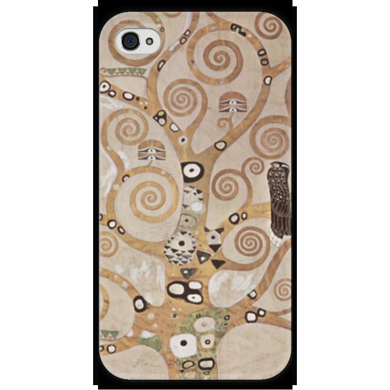 Чехол для iPhone 4 глянцевый, с полной запечаткой Printio Древо жизни чехол для iphone 4 глянцевый с полной запечаткой printio эфиопка