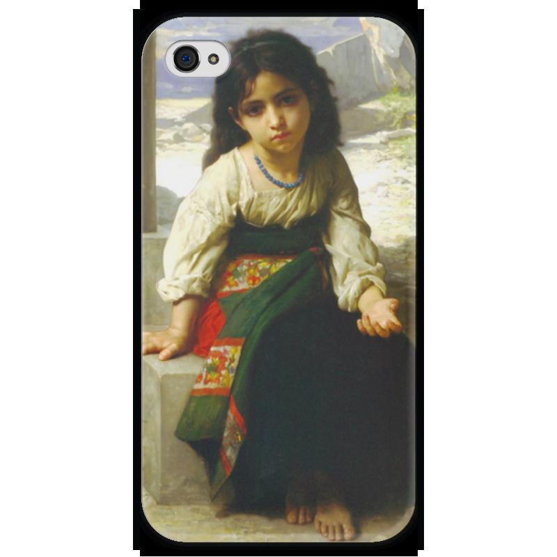 Чехол для iPhone 4 глянцевый, с полной запечаткой Printio Маленькая нищенка чехол для iphone 4 глянцевый с полной запечаткой printio эфиопка