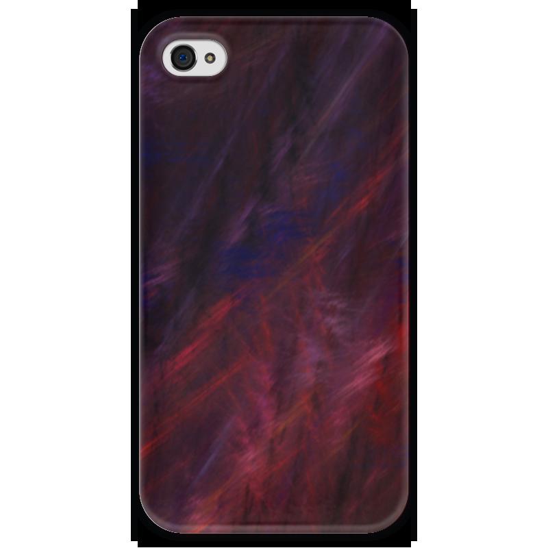 Чехол для iPhone 4 глянцевый, с полной запечаткой Printio Абстрактный дизайн чехол для iphone 4 глянцевый с полной запечаткой printio эфиопка