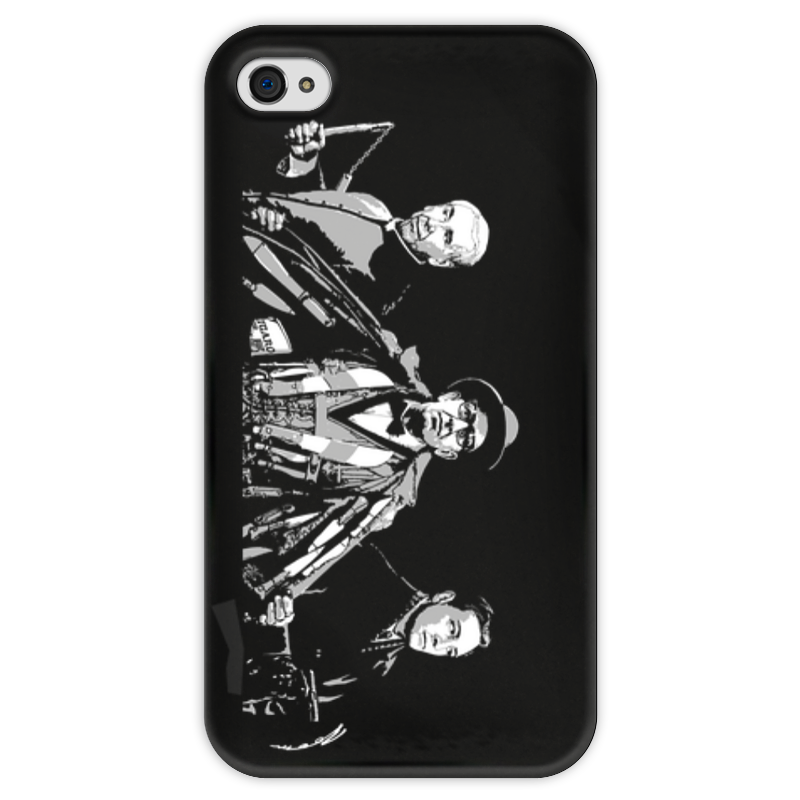 Чехол для iPhone 4 глянцевый, с полной запечаткой Printio Добро с кулаками чехол для iphone 4 глянцевый с полной запечаткой printio эфиопка