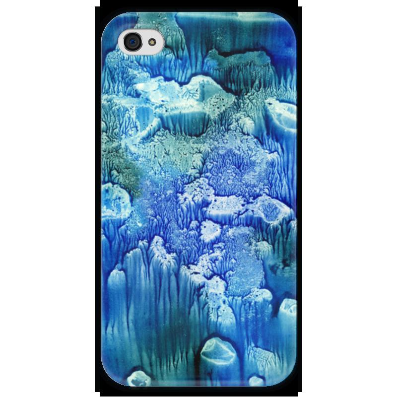 Чехол для iPhone 4 глянцевый, с полной запечаткой Printio Акварелька чехол для iphone 4 глянцевый с полной запечаткой printio челси