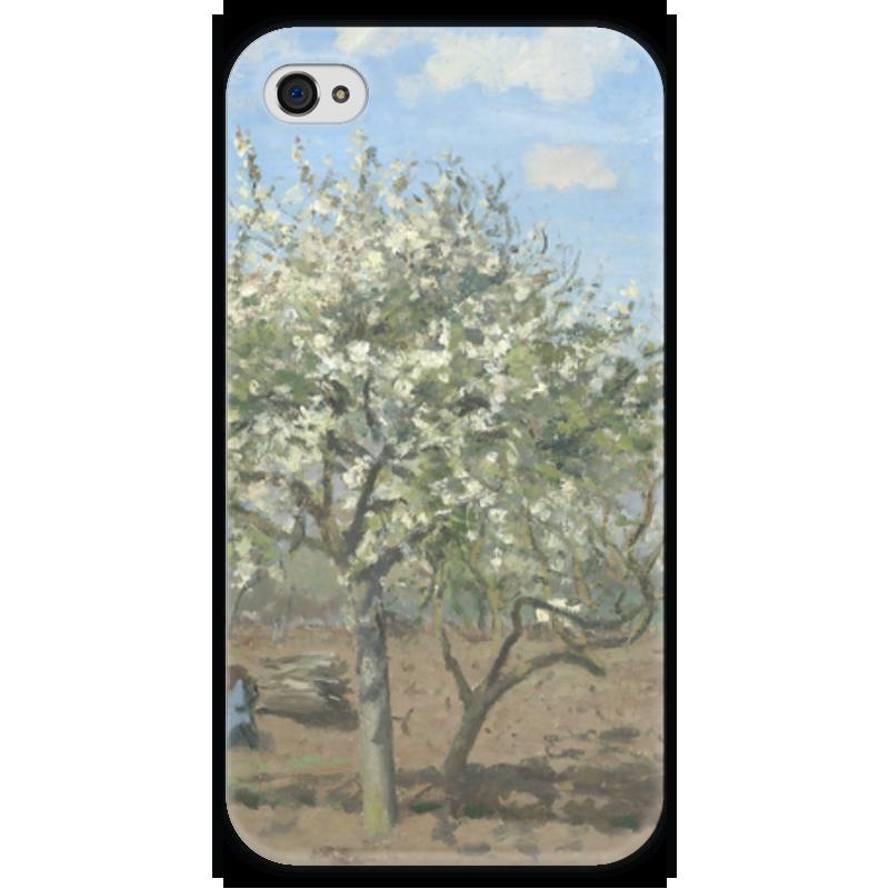 Чехол для iPhone 4 глянцевый, с полной запечаткой Printio Фруктовый сад в цвету чехол для iphone 4 глянцевый с полной запечаткой printio фруктовый сад в цвету