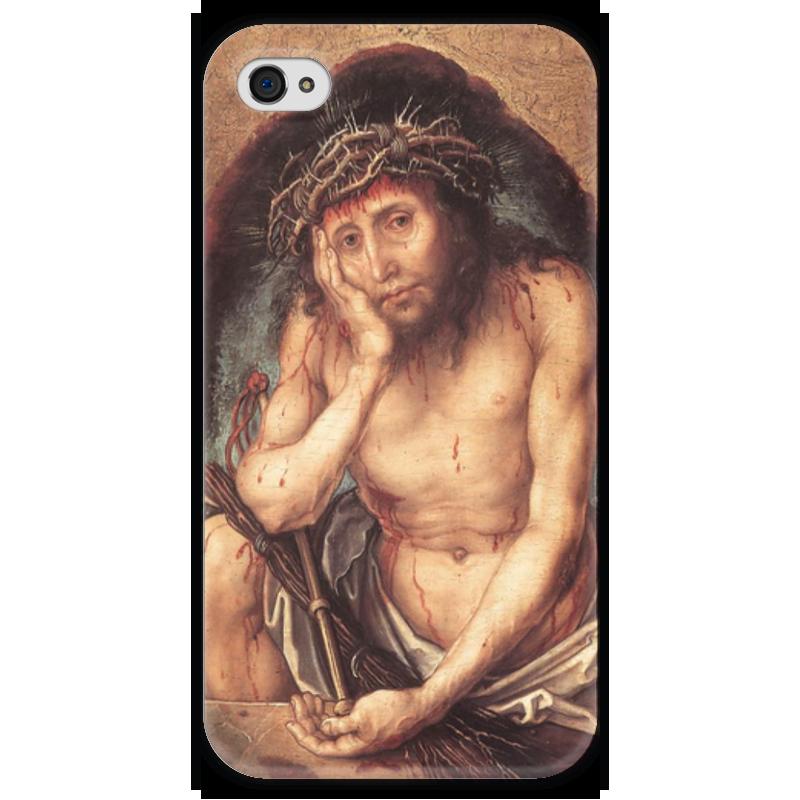 Чехол для iPhone 4 глянцевый, с полной запечаткой Printio Се, человек (ecce homo) копия се х12 в сумах