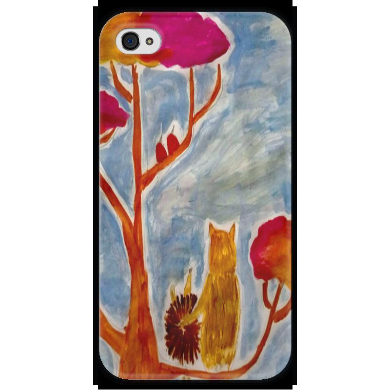 Чехол для iPhone 4 глянцевый, с полной запечаткой Printio Счастье чехол для iphone 4 глянцевый с полной запечаткой printio любовь наше сопротивление